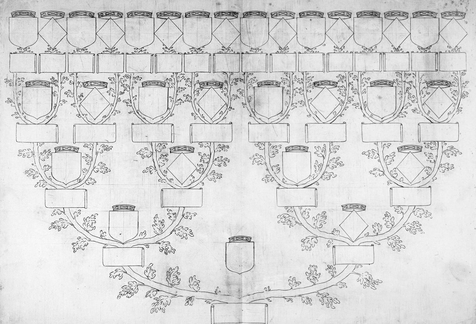 Coloriage Arbre Genealogique.Cadeau Un Arbre Genealogique A Peindre Ou Colorier