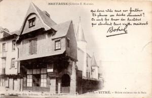 Carte Postale Ancienne de Vitré (35) - Chanson de Botrel