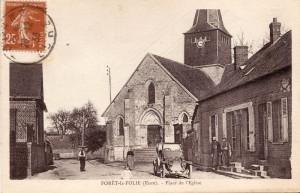 Carte Postale Ancienne de Forêt-la-Folie (27)