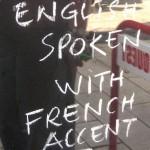 English Spoken !
