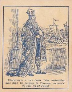 Charlemagne - Image d'Épinal