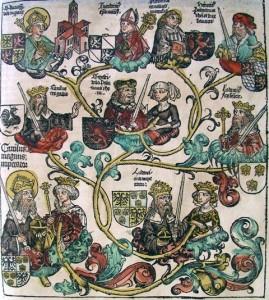 Généalogie de Charlemagne