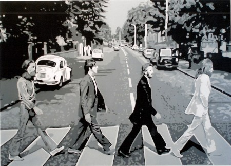 Beatles - Abbey Road, par Adolphe BARBONI