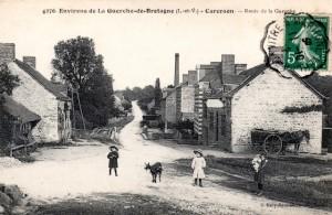 CPA Carcraon-en-Domalaine (35)