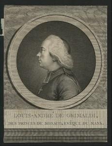 Louis-André de Grimaldi, des Princes de Monaco, Évêque du Mans