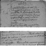 Décès d'un couple de centenaires à Attigneville en 1683 et 1687 - © AD 88