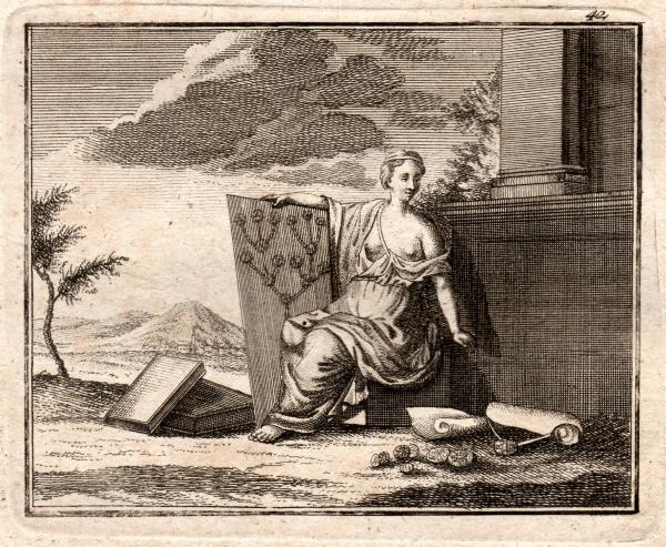La Généalogie - gravure XVIIIe siècle