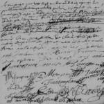 AM MÉSANGEAU Claude BAUCHÉ Marie, 1691, Beillé | © AD 72