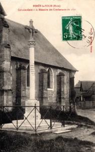 Forêt la Folie - Calvaire élevé à la Mémoire des Combattants de 1870