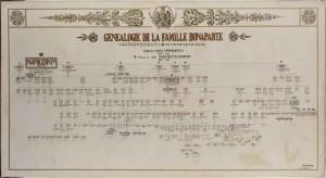 Généalogie de la famille Bonaparte - © musée de la Maison Bonaparte, Ajaccio