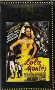 Affiche de Lola Montès, de Max Ophüls