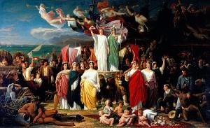 Le Génie de l'Amérique, 1858, par Adolphe YVON | Saint-Louis Art Museum