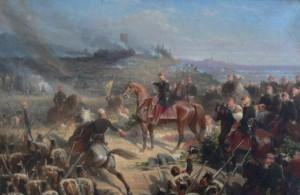 Bataille de Solférino, 1859, par Auguste YVON | Wikimédia