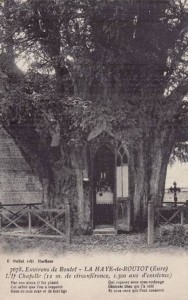 If Chapelle millénaire - La Haye-de-Routot (Eure)