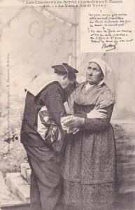 Le Voeu à Saint-Yves, chanson de Botrel | Carte Postale Ancienne