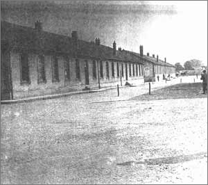 Les baraques du camp de Royallieu, Compiègne