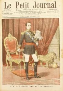 S. M. Alphonse XIII, roi d'Espagne - Le Petit Journal du 14 mai 1905