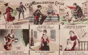 CPA - La Mobilisation Civile