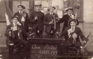 CPA - Les Cerqueux-de-Maulévrier (79) - Aux Poilus de la Classe de 1919
