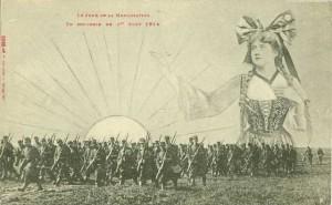 CPA - Le Jour de la Mobilisation