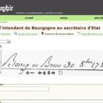 page Paléographie | LAHRA (CNRS)