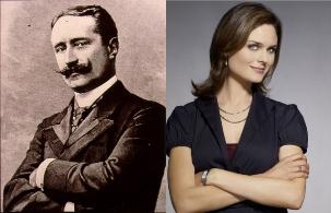 Paul DESCHANEL, président français & Emily DESCHANEL, actrice américaine