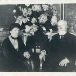Paul DOUMER et sa femme à Versailles le 22 mai 1931