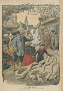 Le Petit Journal illustré du 27 décembre 1908 - Marché normand