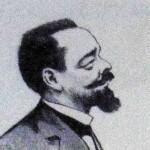 Paul DOUMER caricaturé par Noël DORVILLE en 1902