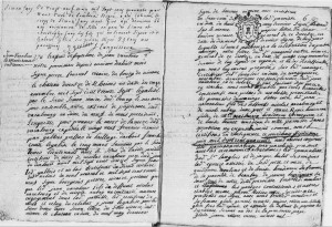 AM VARABOUR Jean OUDINEAU Marie Renée, 1740, Lombron (72)