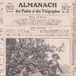 Almanach des Postes et Télégraphes 1912