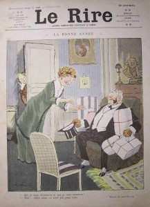 Une du journal Le Rire du 6 janvier 1912
