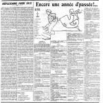 L'Ouest Eclair du 1er janvier 1912