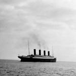 Le Titanic quitte Queenstow le 10 avril 1912, l'une des dernières photos du paquebot