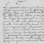 Chronique du curé d'Athenay (Chemiré-le-Gaudin, Sarthe), 1709