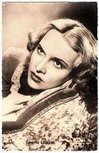 Ginette LECLERC née Geneviève Lucie MENUT (1912-1992)
