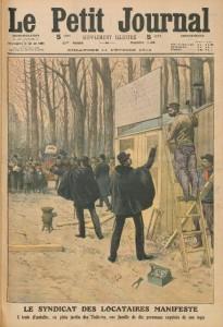 Le Petit Journal - supplément illustré du 11 février 1912 - couverture