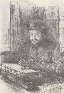 Adolphe ALBERT (1855-1938) par Toulouse-Lautrec, 1898