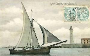 Carte Postale Ancienne - Cette / Sète (34) - Bateau-Pêcheur - La retardataire