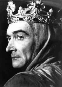 Jean VILAR dans le rôle de Richard II, 1947