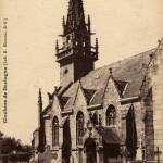 Carte Postale Ancienne - Trébrivan (22) - L'Eglise