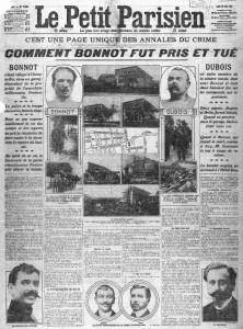 Le Petit Parisien, une du 29 avril 1912