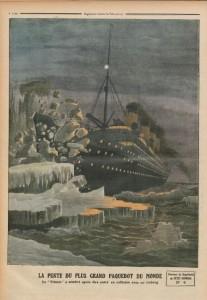 Le Petit Journal, supplément illustré du 28 avril 1912, dernière de couverture