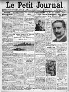 Le Petit Journal - une du 24 mai 1912 | Gallica © BnF