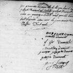 AM DUMONT Auguste Joseph x DUMONT Eulalie Joseph, an VI, Aubigny-au-Bac (59) - NMD 1793-1802 - vue 163