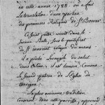 Translation de la relique de Saint-Bomer, 1788 Thorigné | © Archives Départementales de la Sarthe