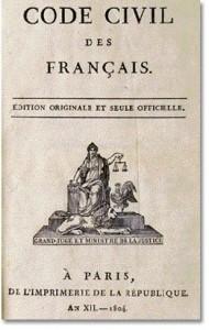 Code Civil des Français - an XII - 1804