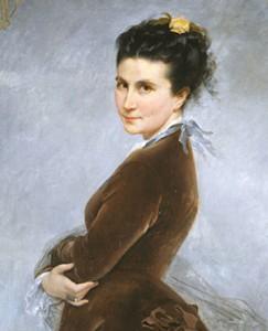 Nélie JACQUEMART-ANDRÉ - auto-portrait | artworldlist.com