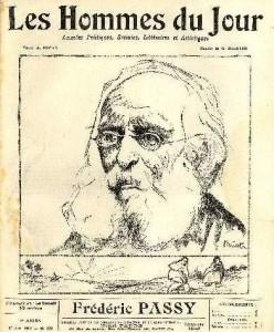 Fréderic PASSY - Les Hommes du Jour du 1er janvier 1912