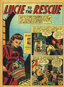 Lucie to the-Rescue, 1946, True Comics épisode 49